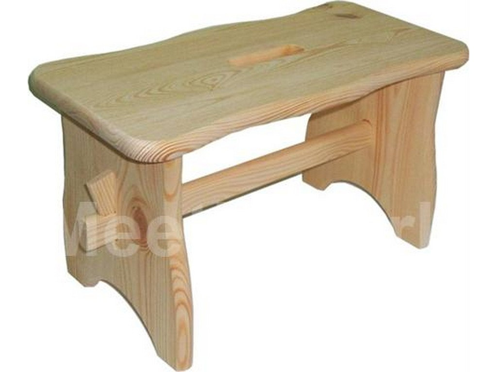 Sgabello legno meeting noce frassino cm