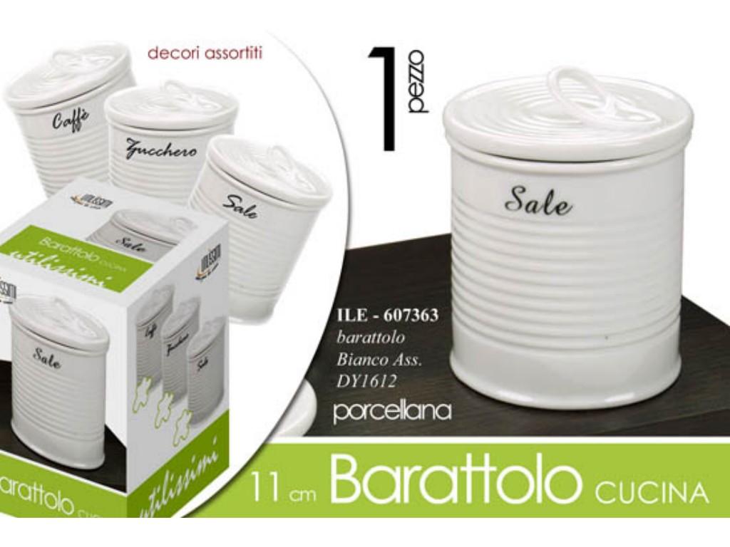 BARATTOLO CUCINA FATIGATI VETRO LT. 1